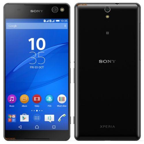 Sony Xperia C5 Dual - 16GB -  6.0 Inch - Black
