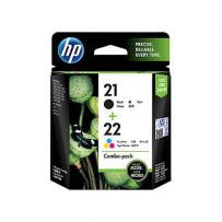 HP 21/22 Combo Pack Ink Cartridge (CC630AA)
