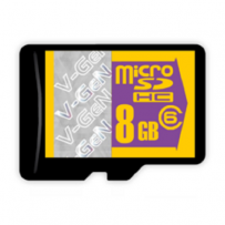 V-GEN Micro SD Card Turbo 8GB Non Adapter - Class 10