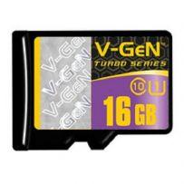 V-GEN Micro SD Card Turbo 16GB Non Adapter - Class 10