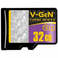 V-GEN Micro SD Card Turbo 32GB Non Adapter - Class 10