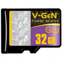 V-GEN Micro SD Card Turbo 32GB Non Adapter - Class 10
