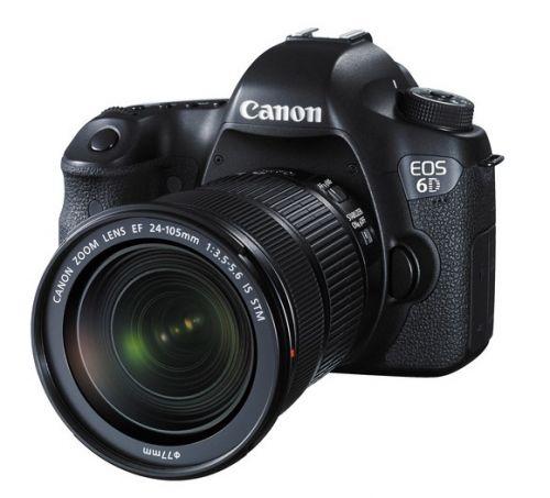 CANON EOS 6D - 24-105MM STM - BLACK (EOS6DL105STM)