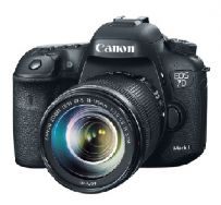 Canon Digital EOS 7D Mk II with lens 18-135 IS STM - Hitam