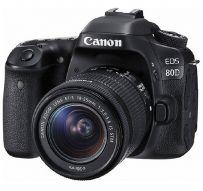 Canon Digital EOS 80D w/ lens 18-55mm IS STM Wifi - Hitam