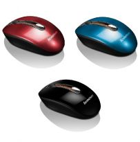 Lenovo Wirelless Mouse N3903 - Coral Blue