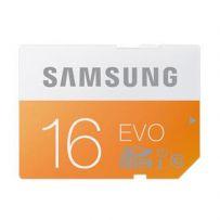 SAMSUNG MicroSD 48MB/s EVO UHS-I Micro SD Card 16GB