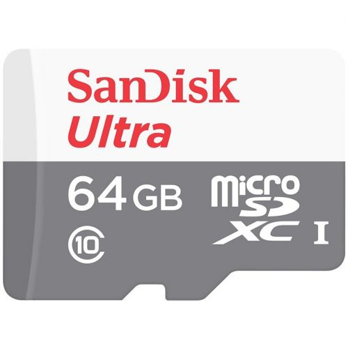 SANDISK Ultra MicroSD 64GB 80MB/s - NO Adapter - MicroSD CLASS 10