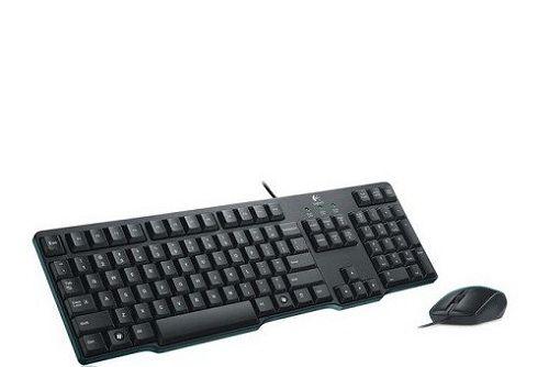 LOGITECH Keyboard + Mouse (K100 + B100)