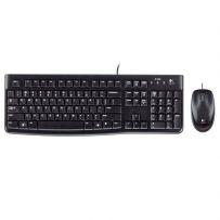 LOGITECH Keyboard + Mouse  (K120+B100)