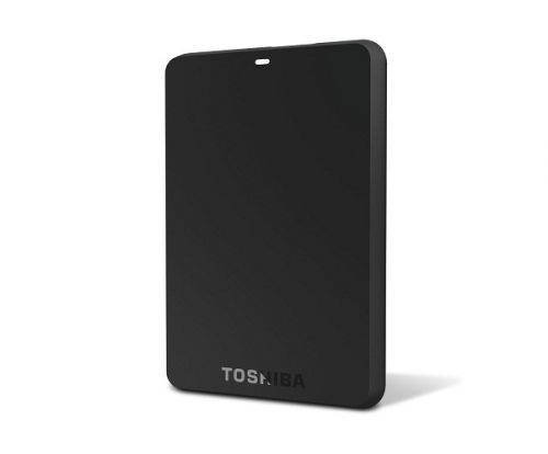 Toshiba Canvio Basic 3.0 Portable Hard Drive 1TB - Hitam