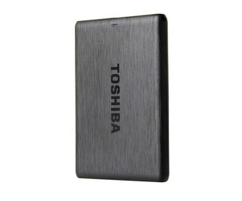 Toshiba Canvio Simple 3.0 Portable Hard Drive 500GB Phase II - Dark Grey