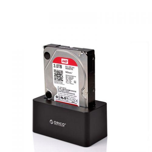 ORICO 6619US3 - Tool Free SATA To USB3.0 2.5 & 3.5 SATA - HDD Docking Station - BLACK