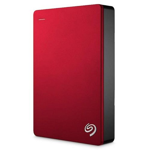 SEAGATE BACKUP PLUS SLIM + POUCH 4TB - RED (STDR4000303)