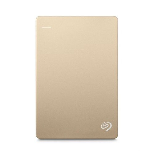 SEAGATE BACKUP PLUS SLIM + POUCH 4TB - GOLD NEW (STDR4000405)