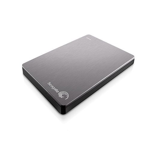 SEAGATE BACKUP PLUS SLIM + POUCH 5TB - SILVER NEW (STDR5000301)