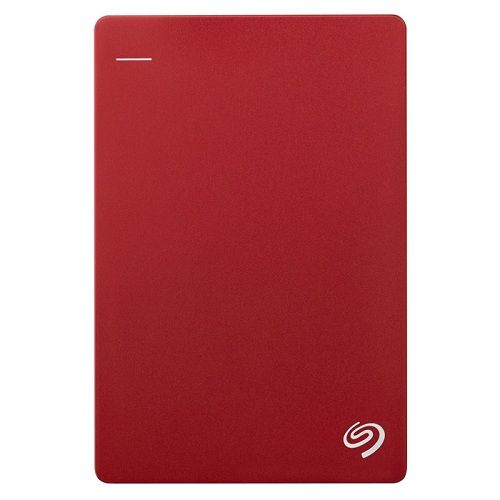 SEAGATE BACKUP PLUS SLIM + POUCH 5TB - RED NEW (STDR5000303)
