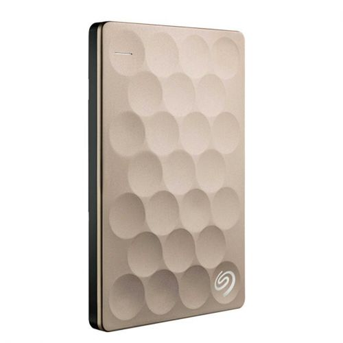 SEAGATE BACKUP PLUS ULTRA SLIM 2TB - GOLD (STEH2000301)