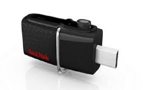SANDISK Ultra Dual 32GB - BLACK [SDDD2-032G-GAM46]