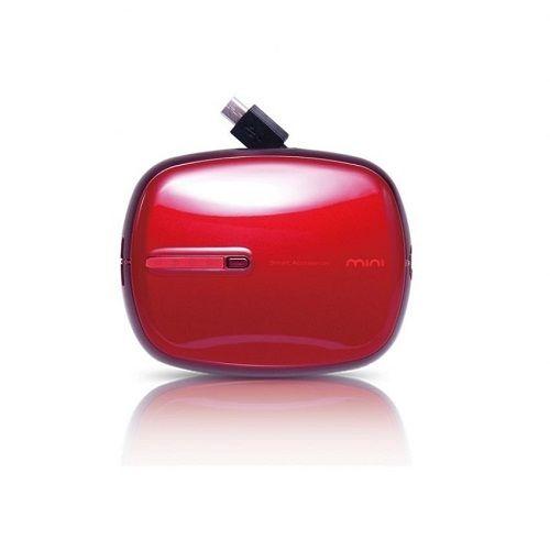 PROBOX Mini Power Bank 5200 MAh - Red