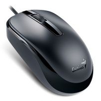 GENIUS USB MOUSE - BLACK (DX-120)