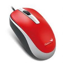 GENIUS USB MOUSE - RED (DX-120)