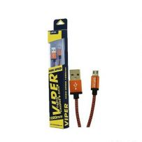 SATOO Viper Micro High Speed Round Nylon Braid 1M - ORANGE (STAM-CBL507)