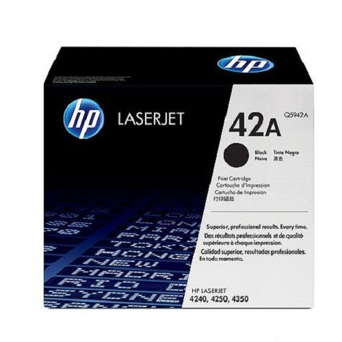 TONER HP 42A BLACK (Q5942A)