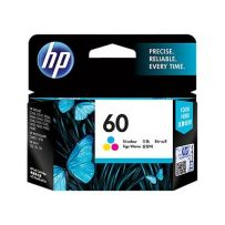 HP 60 Color Ink Cartridge (CC643WA)