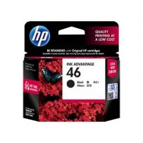 TINTA HP 46 BLACK INK CARTRIDGE (CZ637AA)