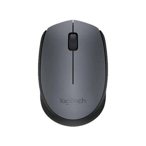 LOGITECH WIRELESS MOUSE M171 - GRAY (910-004655)