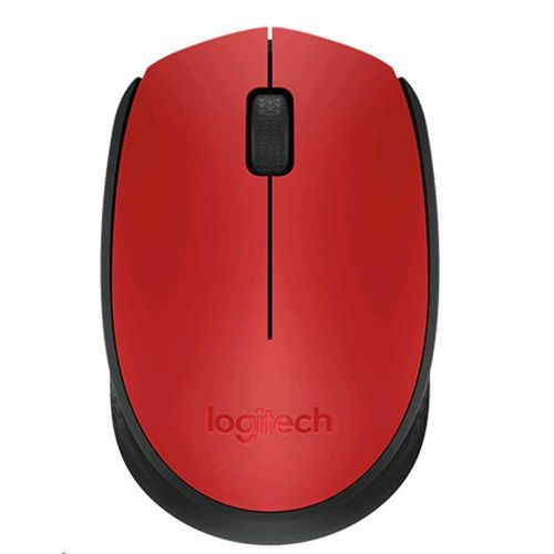 LOGITECH WIRELESS MOUSE M171 - RED (910-004657)