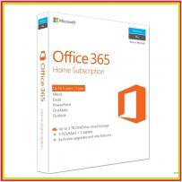Microsoft Office 365 Home Eng APAC EM Subscr 1YR P2 (6GQ-00757)