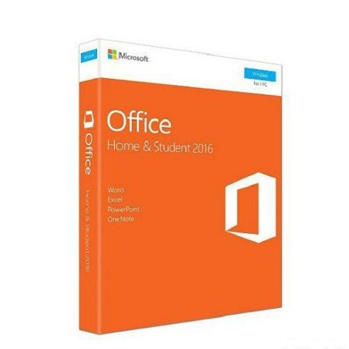 MICROSOFT Office Home And Student 2016 Win English APAC EM Medialess P2 (79G-04679)
