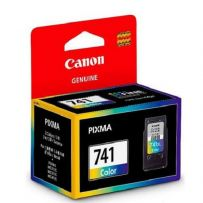 CANON Color Ink Cartridge with Print Head (CL741)