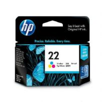 HP Tri-Color Ink Cartridge 22 (HPC9352A)