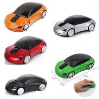 WIRELESS CAR MOUSE MINI LED OPTICAL 2.4Ghz CAR SHAPE FOR PC LAPTOP