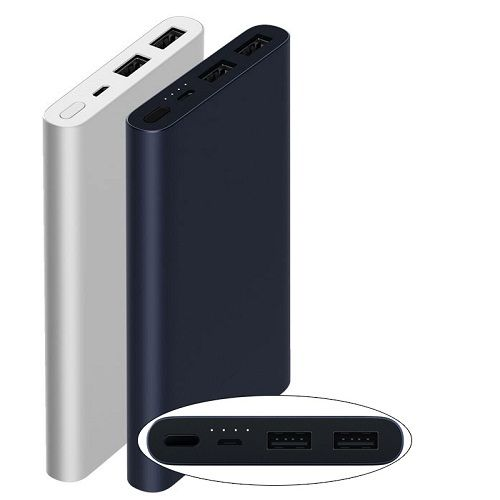 XIAOMI MI 2i POWER BANK 10000mAh 2 PORTS