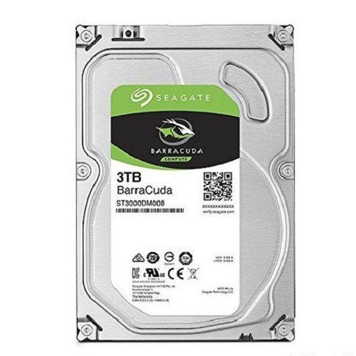 SEAGATE BARRACUDA 3TB - 3.5 INCH (ST3000DM008)