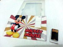 USB Flashdisk Card 8 GB Toshiba - Mickey Mouse