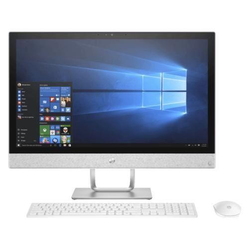 HP AIO 24-R175D - I7-8700T - WIN 10 - WHITE (4YT35AA)