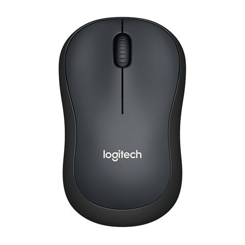 LOGITECH M221 SILENT WIRELESS MOUSE - CHARCOAL [910-004882]