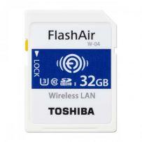 FlashAir W-04 Wireless SD Card 32GB [THN-NW04W0320A6]