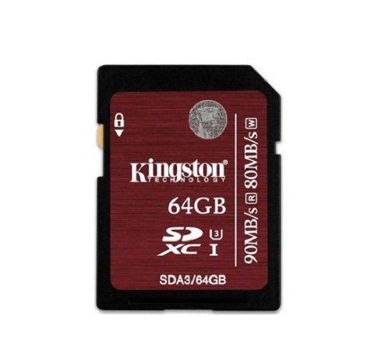 SDXC 64GB Class 10 SDA3/64GB