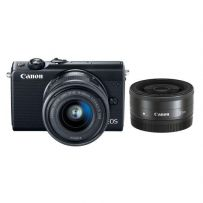 EOS M100 with Double Lens Black