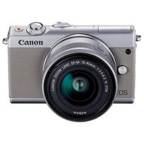 EOS M100 with 15-45mm Lens Grey