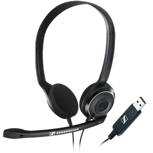 PC 8 USB Stereo USB Headset for PC and MAC