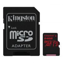 128GB microSDXC Canvas React A1 Class 10 UHS-I V30 (SDCR/128GB)