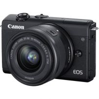 EOS M200 with EF-M15-45mm Lens Black [EOSM200-B1]
