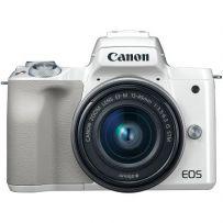 EOS M50 Kit Lens 15-45mm White [EOSM50LW]
